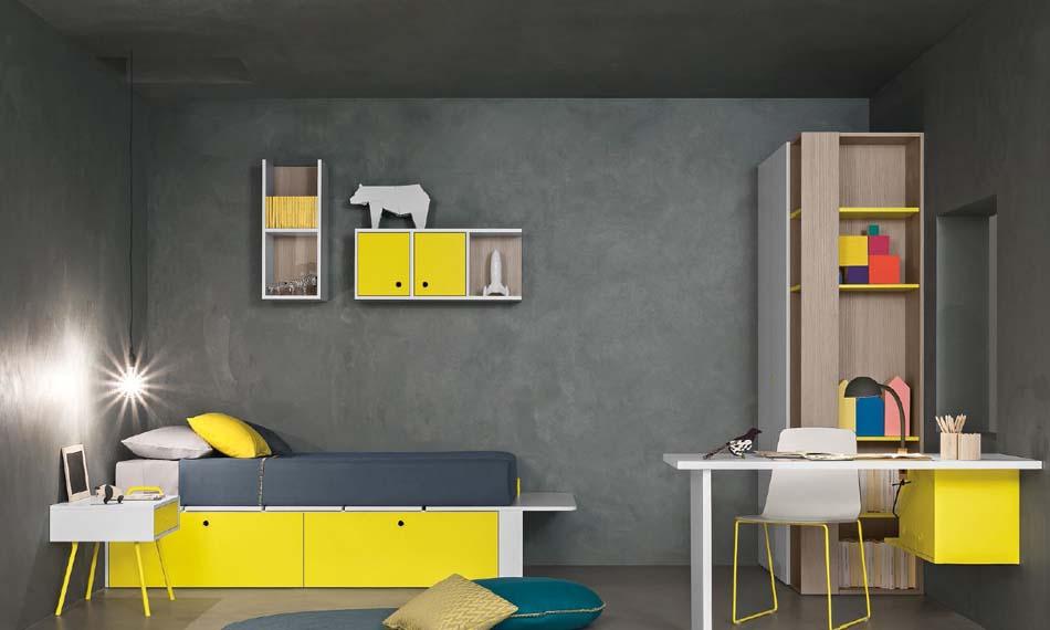 Battistella Camerette Moderne Nidi – Bergamo Arredamenti – 130