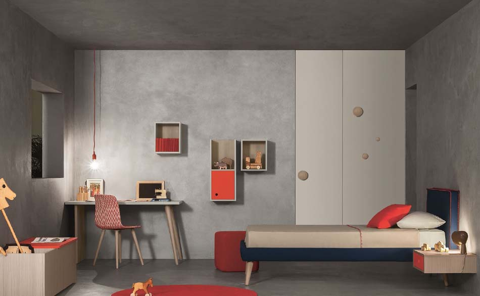 Battistella Camerette Moderne Nidi – Bergamo Arredamenti – 132