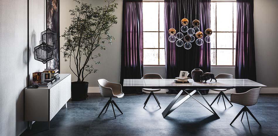 Cattelan ItaliaTavoli Allungabili Premier Keramik Drive – Bergamo Arredamenti