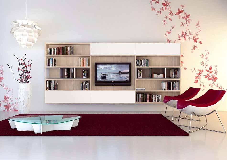 Cinquanta3 – 04 Zona Giorno Librerie – Bergamo Arredamenti
