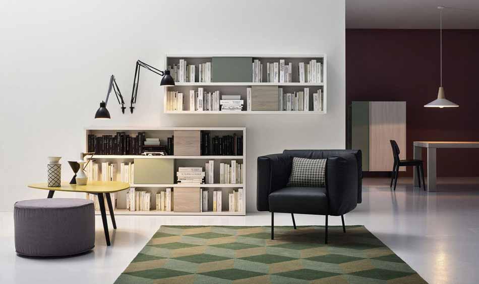 Cinquanta3 – 05 Zona Giorno Librerie – Bergamo Arredamenti