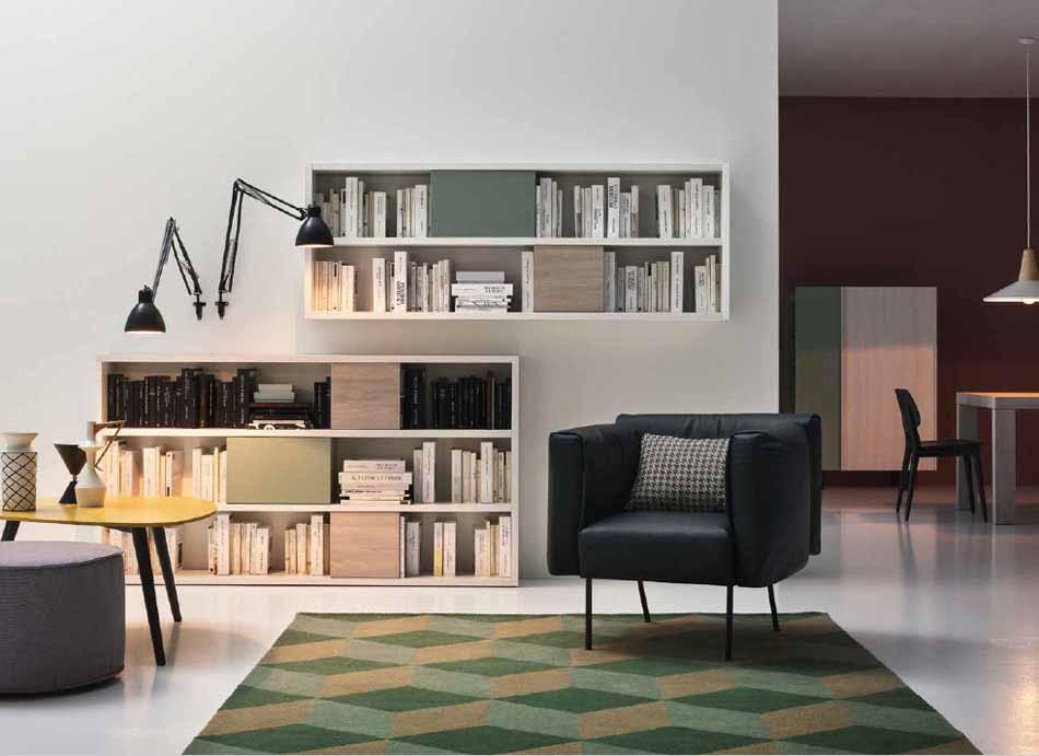 Cinquanta3 – 10 Zona Giorno Librerie – Bergamo Arredamenti