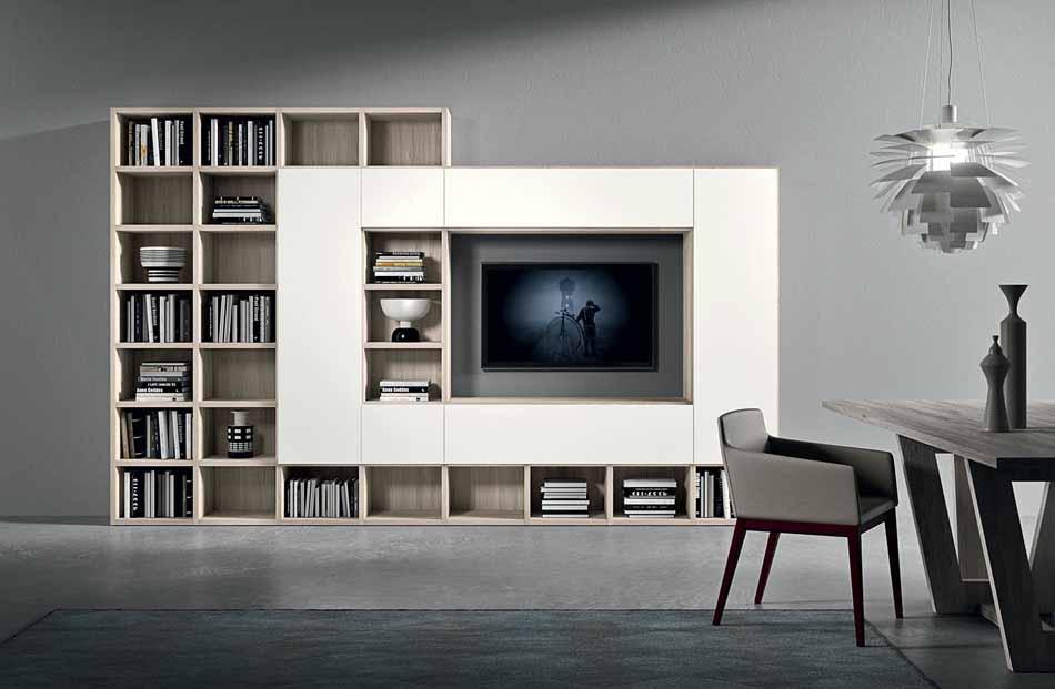 Cinquanta3 – 12 Zona Giorno Librerie – Bergamo Arredamenti