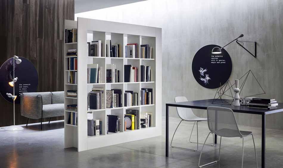 Cinquanta3 – 17 Zona Giorno Librerie – Bergamo Arredamenti