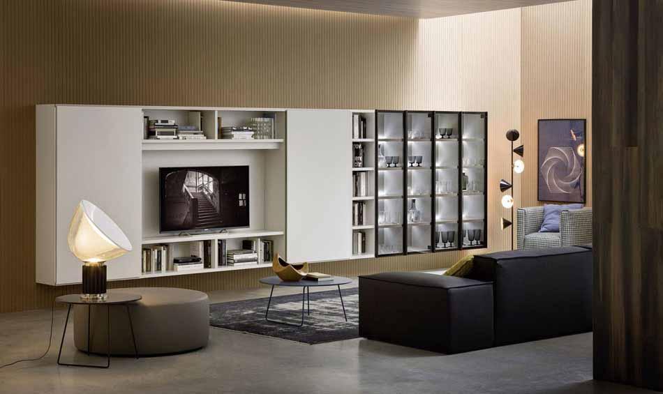 Cinquanta3 – 18 Zona Giorno Librerie – Bergamo Arredamenti