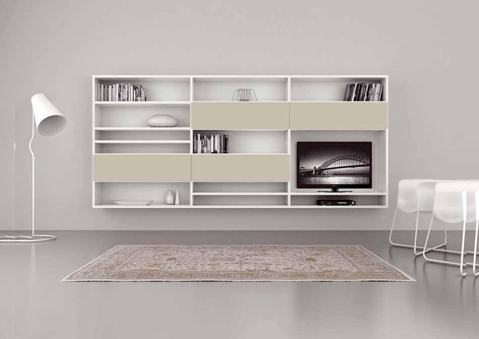 Cinquanta3 – 19 Zona Giorno Librerie – Bergamo Arredamenti