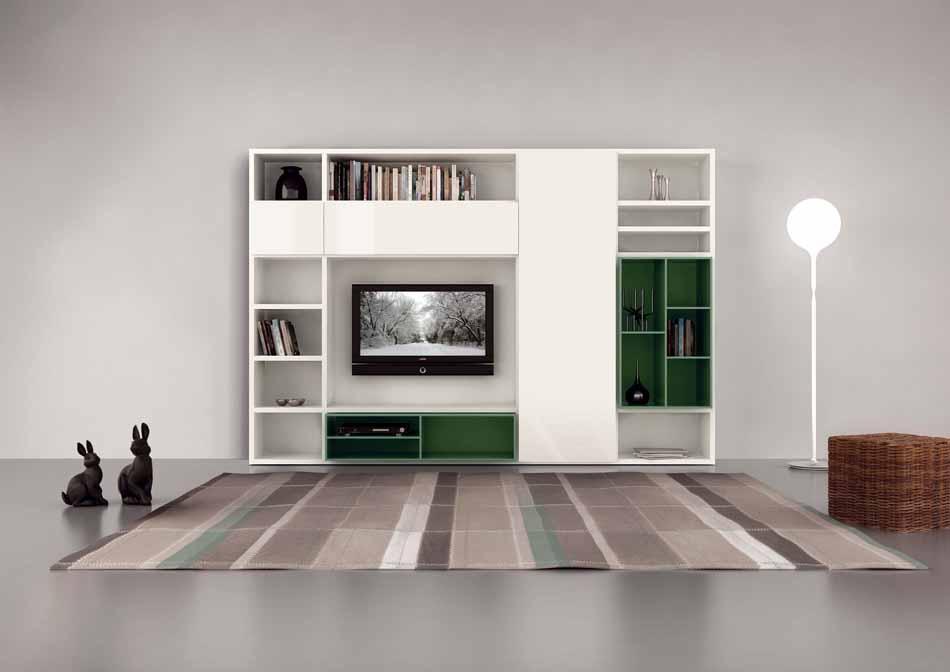 Cinquanta3 – 20 Zona Giorno Librerie – Bergamo Arredamenti