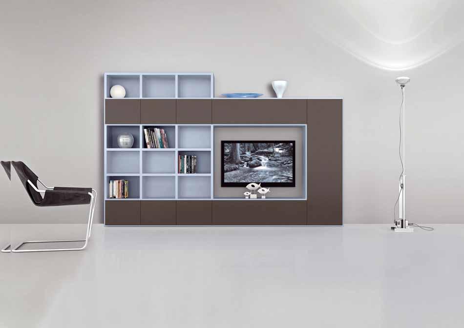 Cinquanta3 – 21 Zona Giorno Librerie – Bergamo Arredamenti