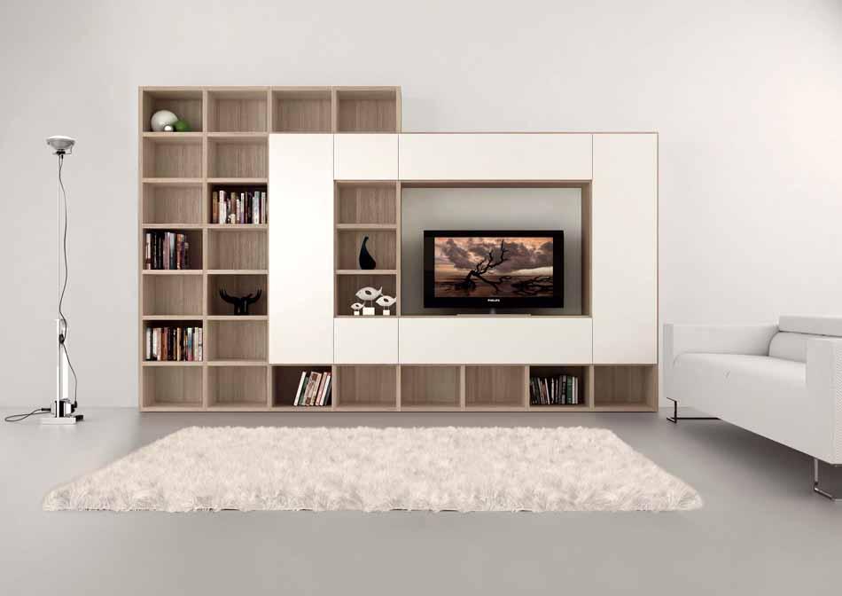 Cinquanta3 – 26 Zona Giorno Librerie – Bergamo Arredamenti