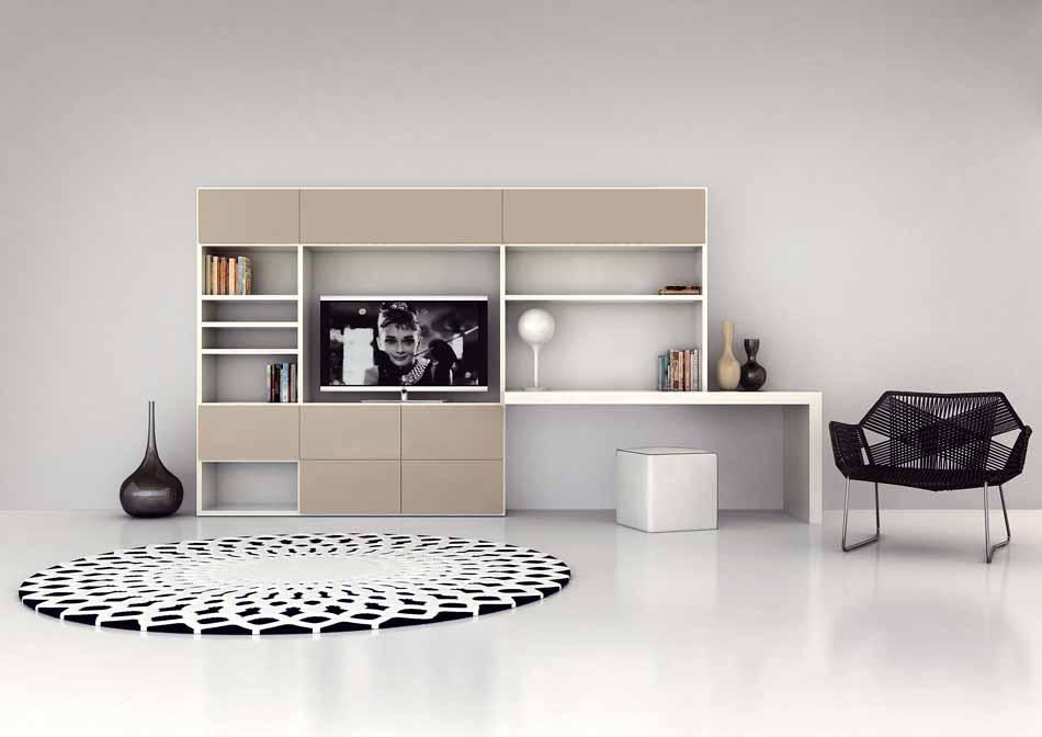 Cinquanta3 – 27 Zona Giorno Librerie – Bergamo Arredamenti