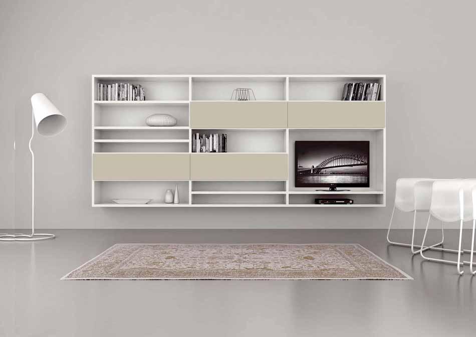Cinquanta3 – 32 Zona Giorno Librerie – Bergamo Arredamenti