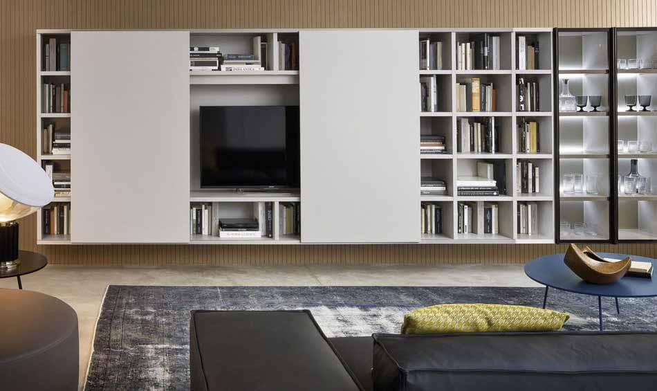Cinquanta3 – 34 Zona Giorno Librerie – Bergamo Arredamenti