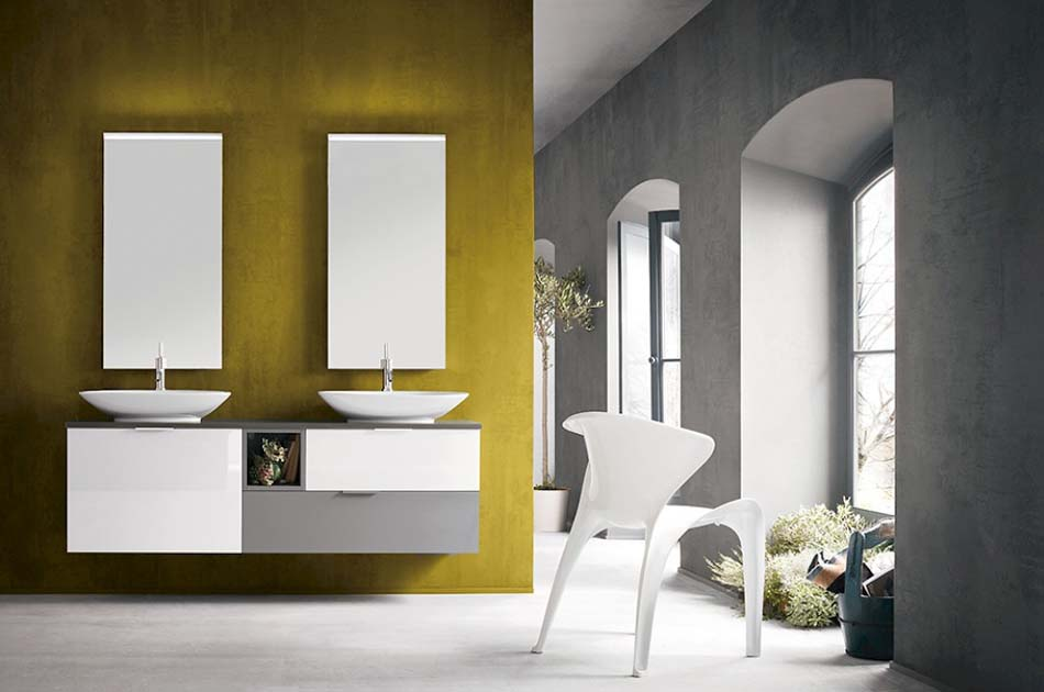 Compab Arredo Bagno B201 Color Doppio Lavello – Bergamo Arredamenti News – 101