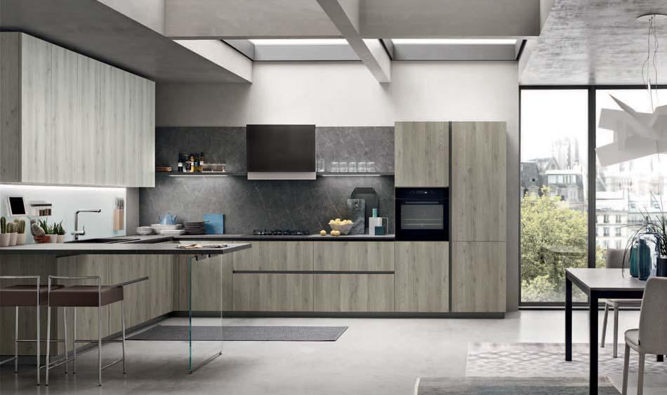 Cucine Moderne Forma 2000 Space Lab 8 – Bergamo Arredamenti