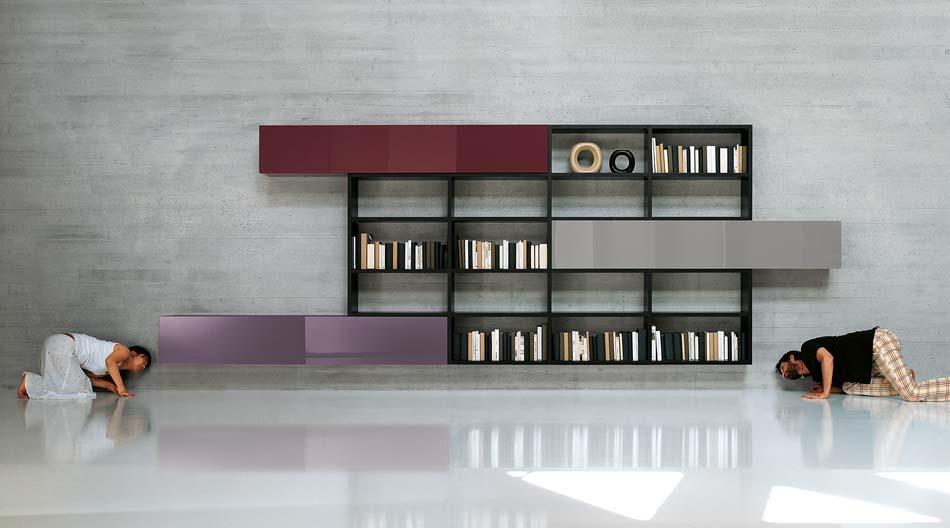 Lago Librerie Moderne Lagolinea – Bergamo Arredamenti – 136
