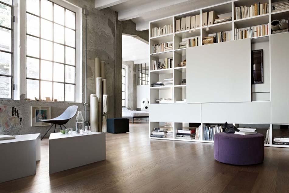 Lema Mobili Librerie Moderne – Bergamo Arredamenti – – 102