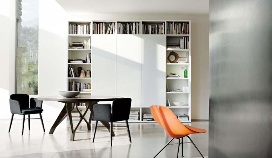 Lema Mobili Librerie Moderne – Bergamo Arredamenti – – 103