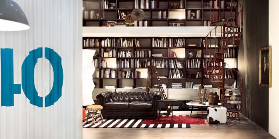 Lema Mobili Librerie Moderne – Bergamo Arredamenti – – 107