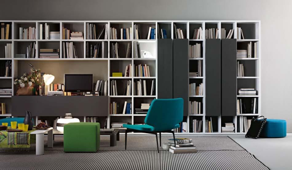 Lema Mobili Librerie Moderne – Bergamo Arredamenti – – 108