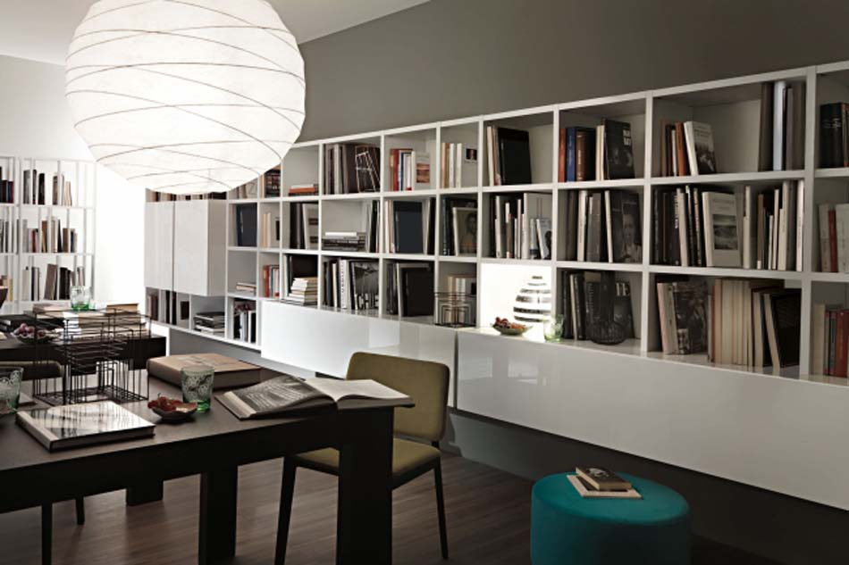 Lema Mobili Librerie Moderne – Bergamo Arredamenti – – 110