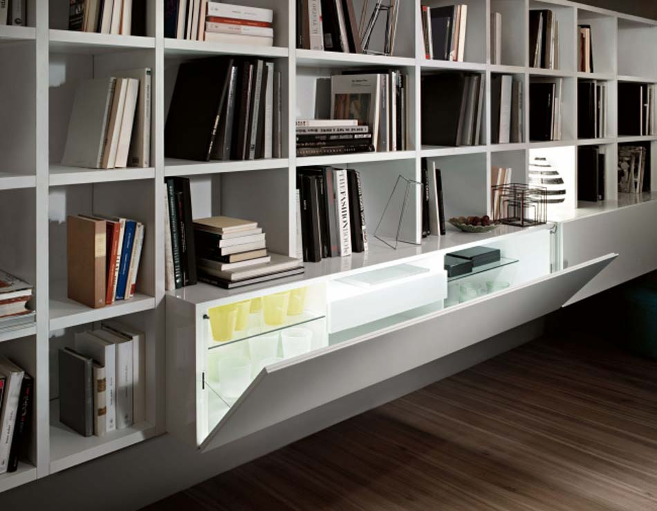 Lema Mobili Librerie Moderne – Bergamo Arredamenti – – 111