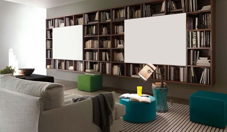 Lema Mobili Librerie Moderne – Bergamo Arredamenti – – 112