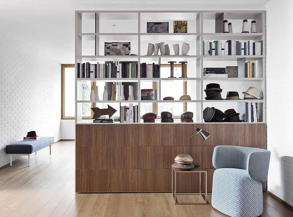 Novamobili 03 Living Libreria – Bergamo Arredamenti