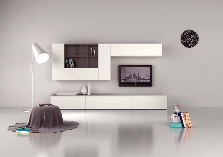 Novamobili 03 Living Pareti Attrezzate – Bergamo Arredamenti