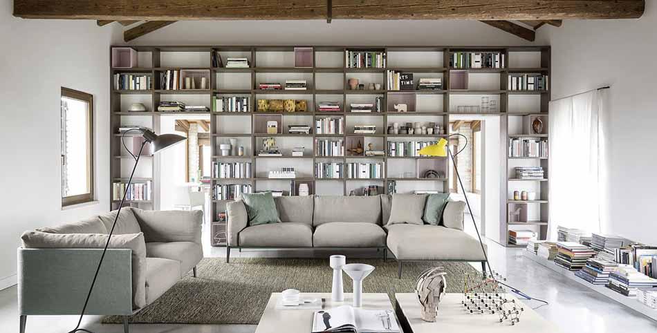 Novamobili 05 Living Libreria – Bergamo Arredamenti
