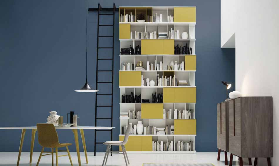 Novamobili 08 Living Libreria – Bergamo Arredamenti