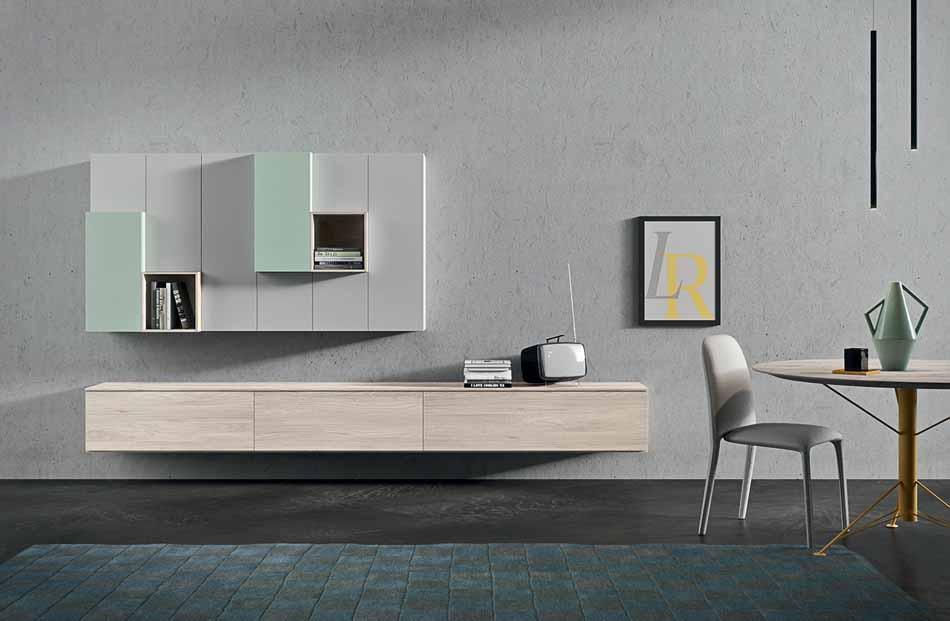 Novamobili 09 Living Pareti Attrezzate – Bergamo Arredamenti