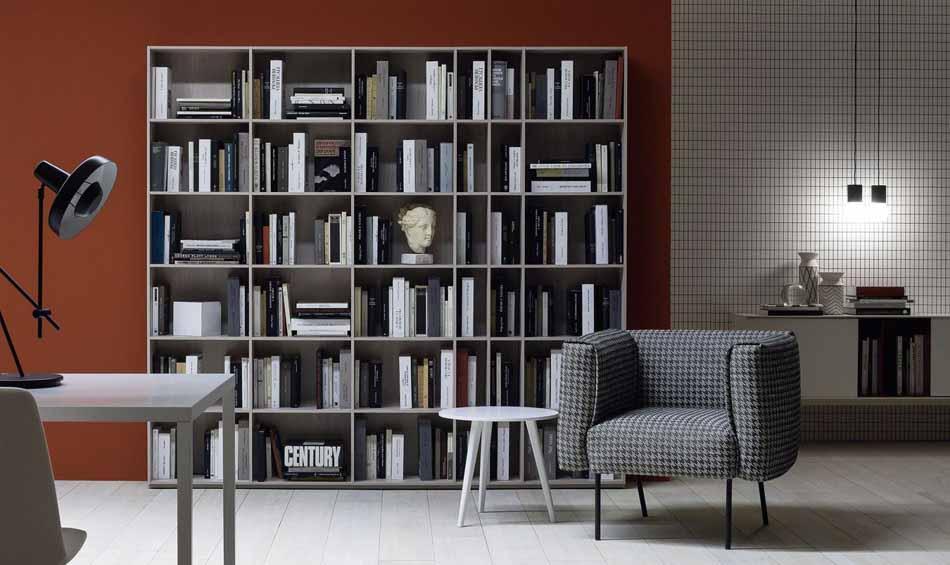 Novamobili 11 Living Libreria – Bergamo Arredamenti