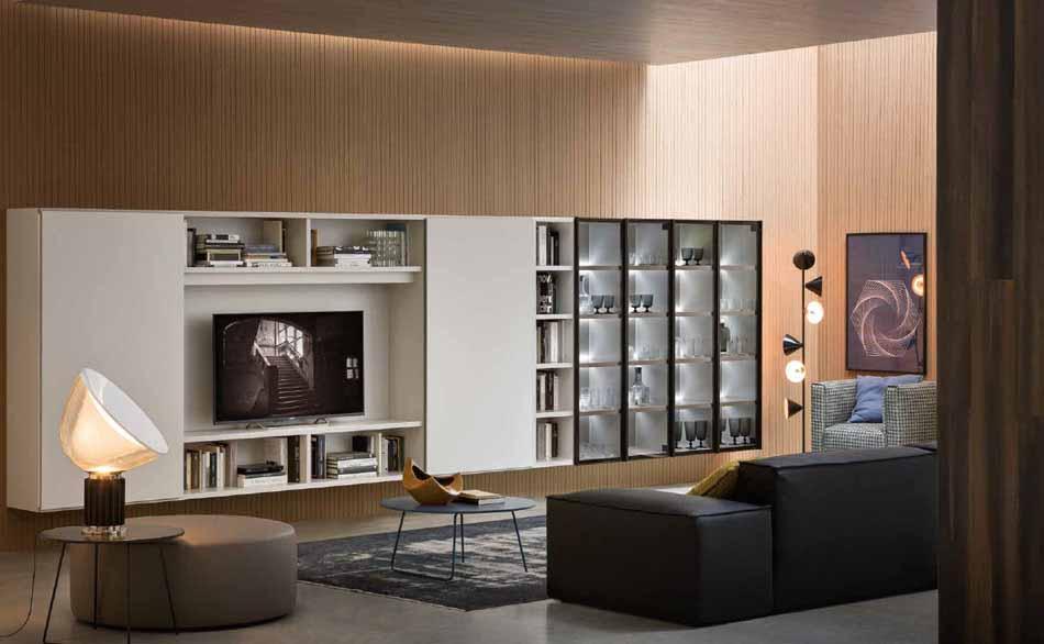 Novamobili 12 Living Libreria – Bergamo Arredamenti