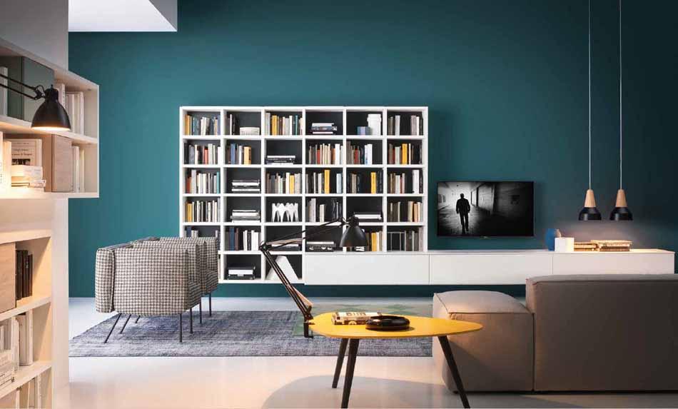 Novamobili 14 Living Libreria – Bergamo Arredamenti