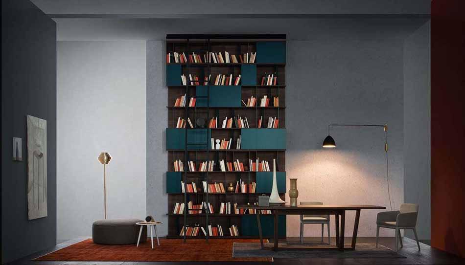 Novamobili 15 Living Libreria – Bergamo Arredamenti