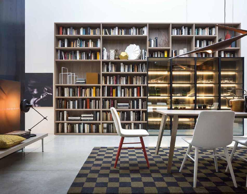 Novamobili 16 Living Libreria – Bergamo Arredamenti
