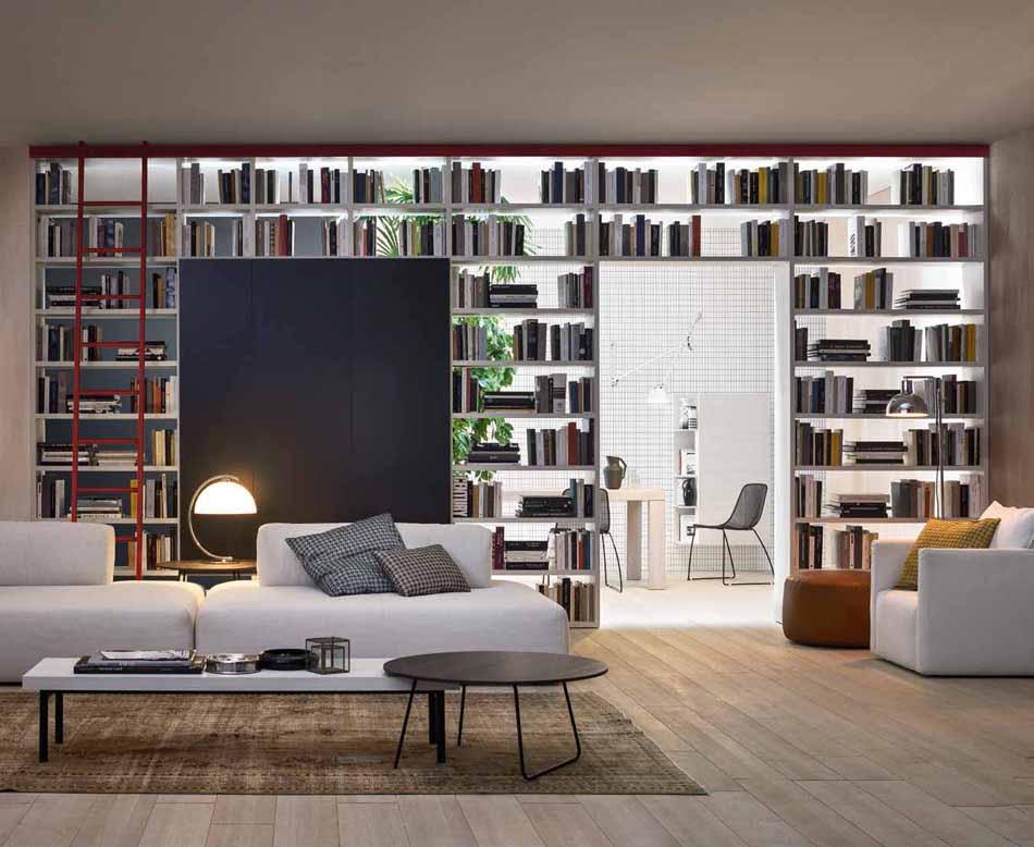 Novamobili 18 Living Libreria – Bergamo Arredamenti