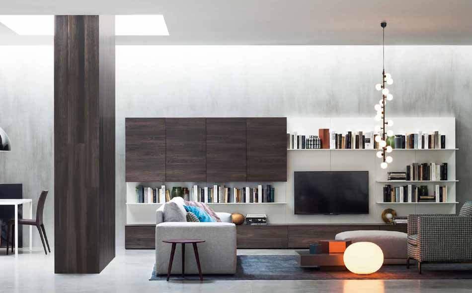 Novamobili 19 Living Pareti Attrezzate – Bergamo Arredamenti