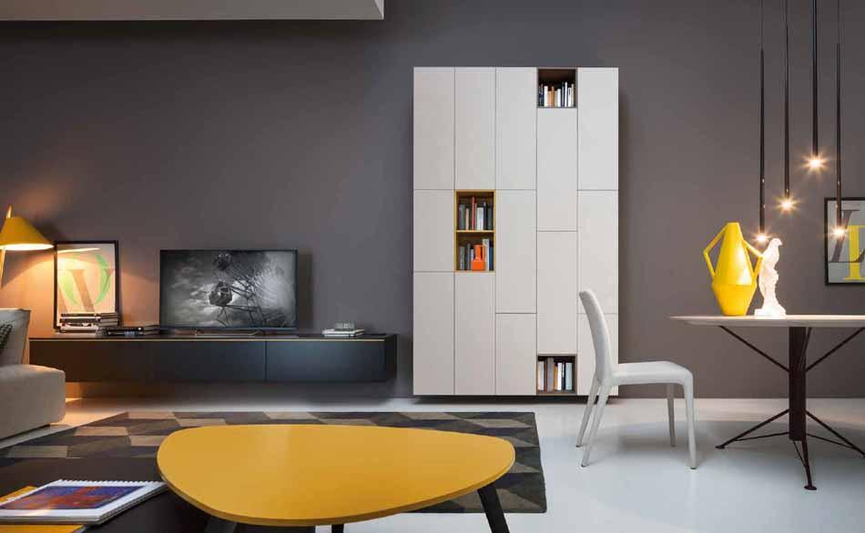 Novamobili 22 Living Pareti Attrezzate – Bergamo Arredamenti
