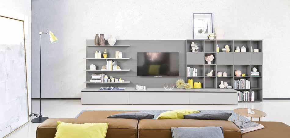 Novamobili 24 Living Pareti Attrezzate – Bergamo Arredamenti