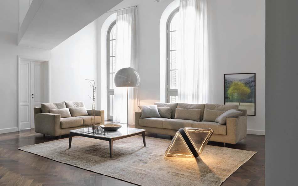 Salottii moderni Flou Borgonuovo 2 – Bergamo Arredamenti
