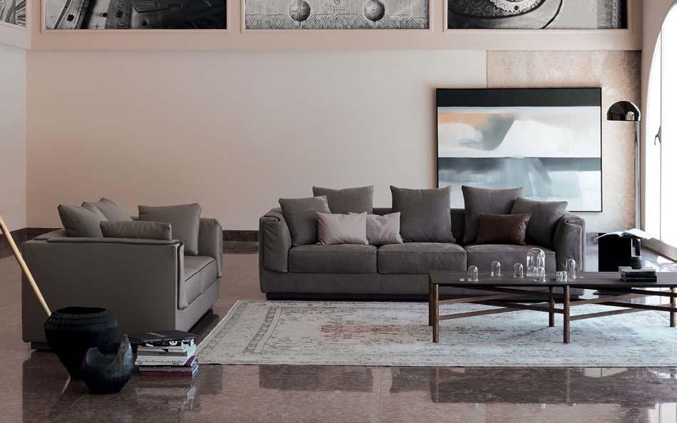 Salottii moderni Flou Gentleman 1 – Bergamo Arredamenti