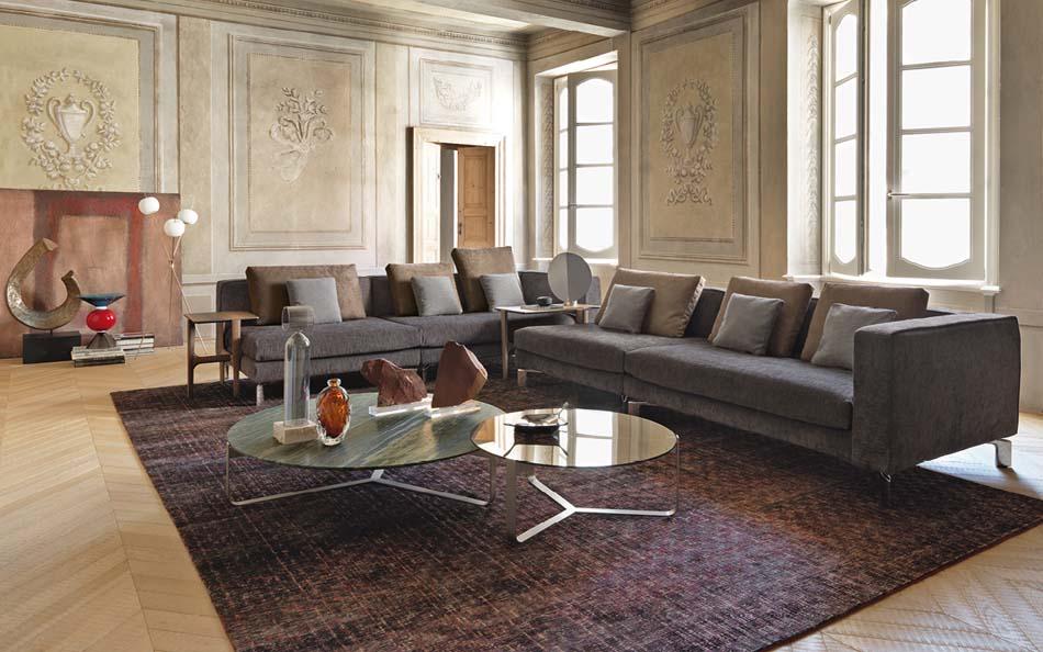 Salottii moderni Flou Tay – Bergamo Arredamenti