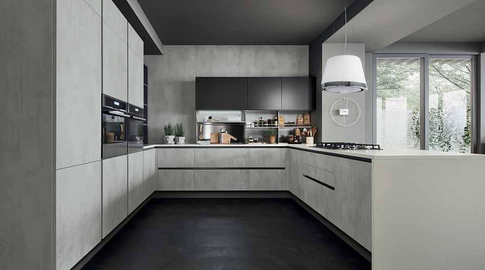 Veneta Cucine Oyster Decorativo Componibili – Bergamo Arredamenti – 108