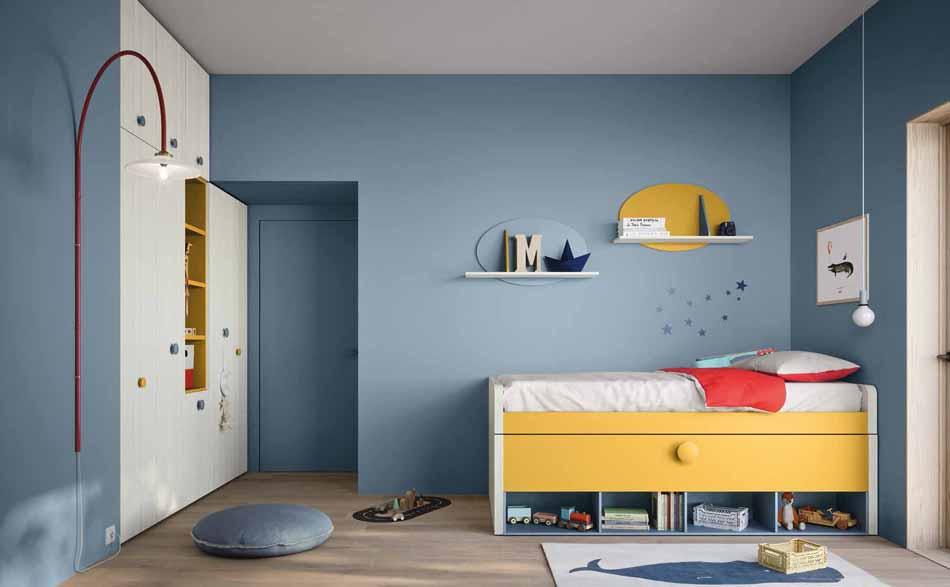 Battistella Camerette – 02 Kids Soppalco – Bergamo Arredamenti