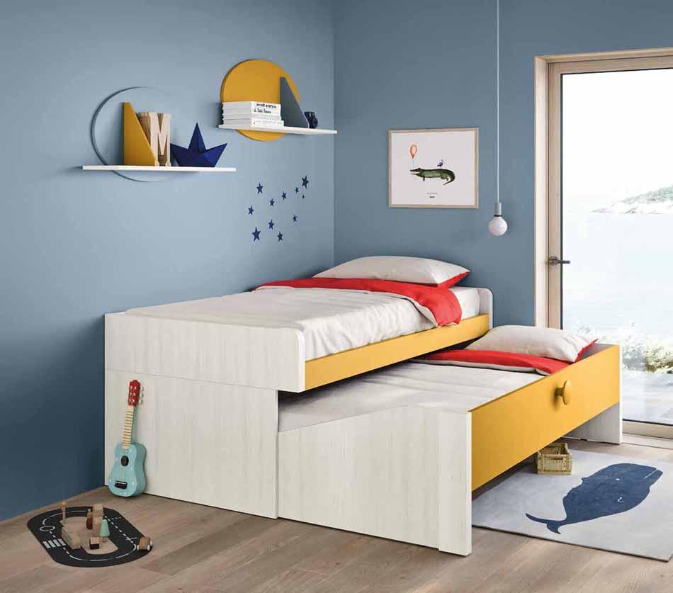 Battistella Camerette – 03 Kids Soppalco – Bergamo Arredamenti