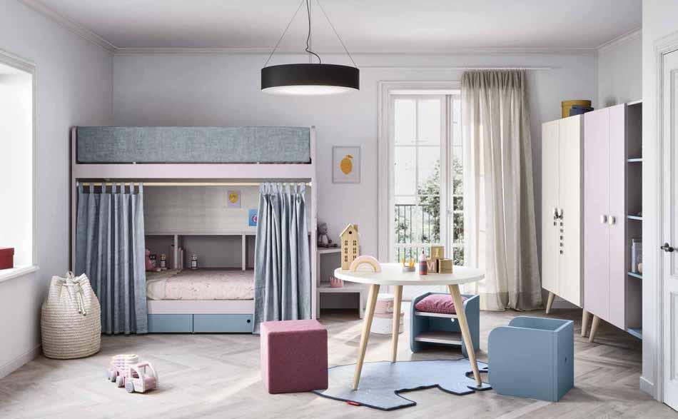 Battistella Camerette – 04 Kids Letti Castello – Bergamo Arredamenti