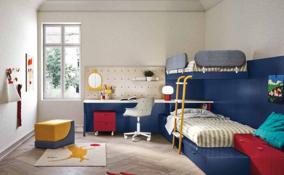 Battistella Camerette – 04 Kids Soppalco – Bergamo Arredamenti