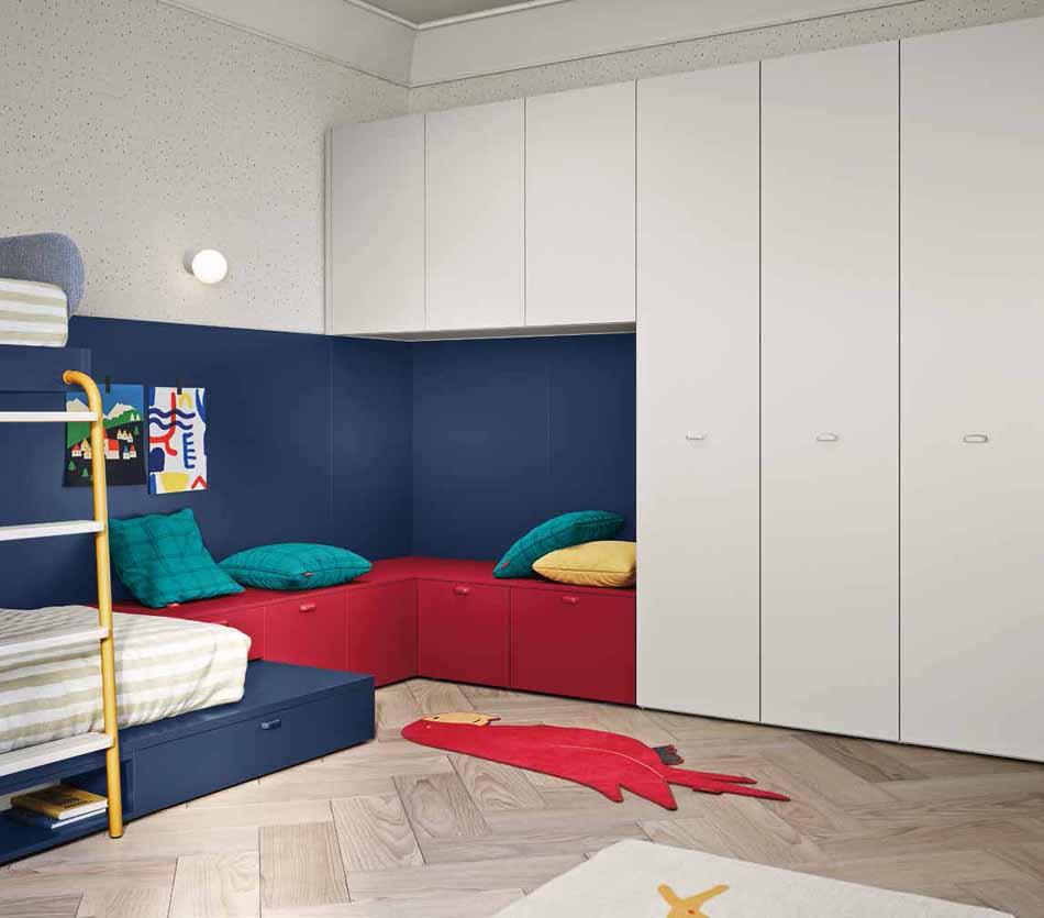 Battistella Camerette – 05 Kids Soppalco – Bergamo Arredamenti