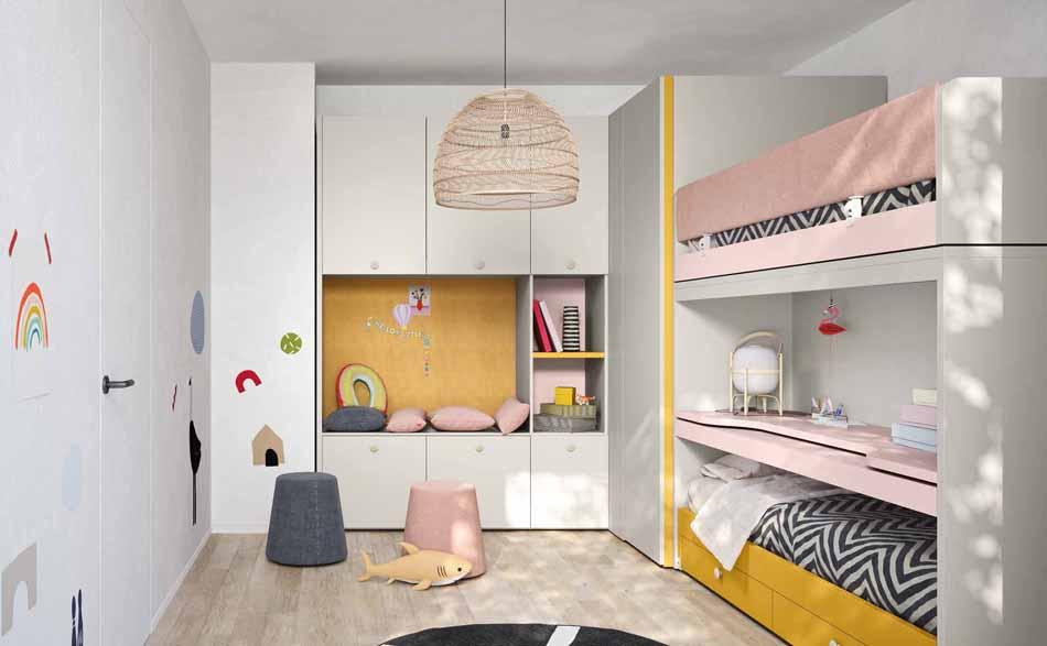 Battistella Camerette – 06 Kids Letti Castello – Bergamo Arredamenti